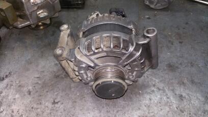 замена ротора генератора форд транзит