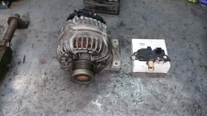 ремонт генератора вольво xc70