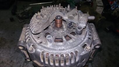 ремонт генератора мерседес спринтер